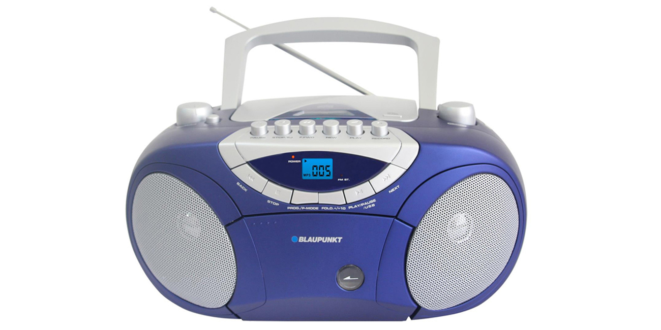 Radioodtwarzacz Blaupunkt Boombox BB15BL