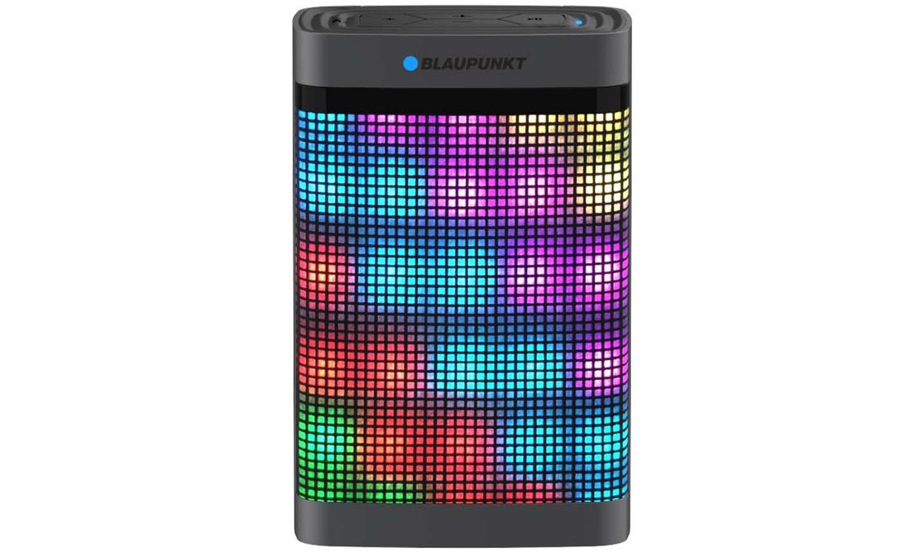 Głośnik przenośny Blaupunkt BT07 LED z efektami swietlnymi