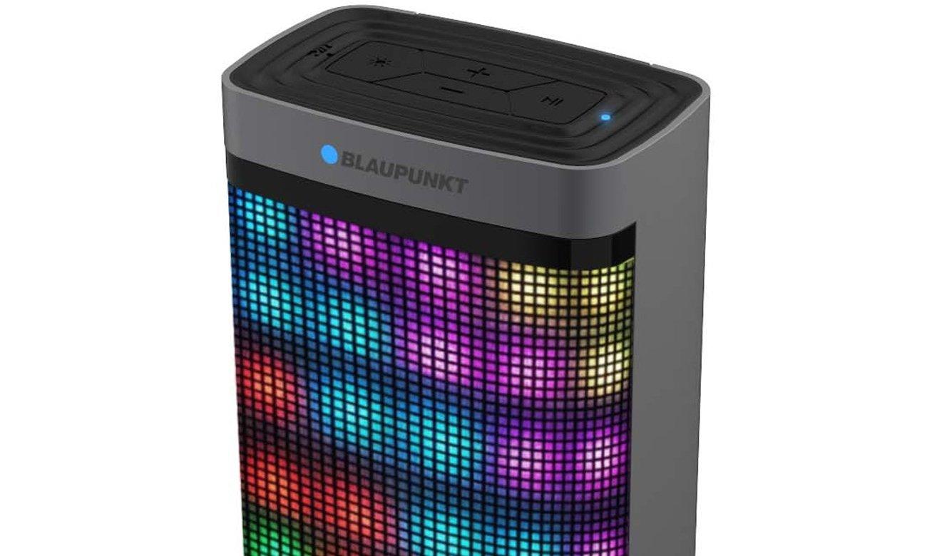 Głośnik przenośny Blaupunkt BT07 LED czarny