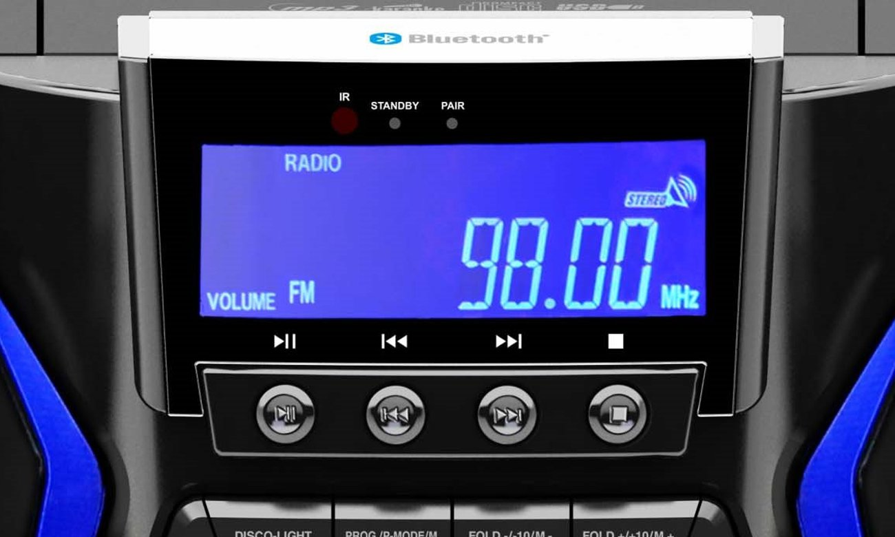 Łatwe przesyłanie muzyki do Blaupunkt MC60BT