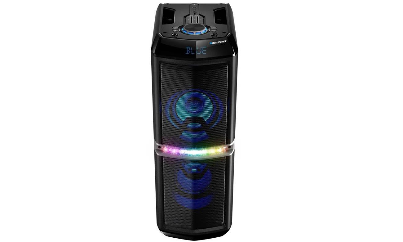 System Power Audio Blaupunkt PS05_2DB z zasilaniem bateryjnym