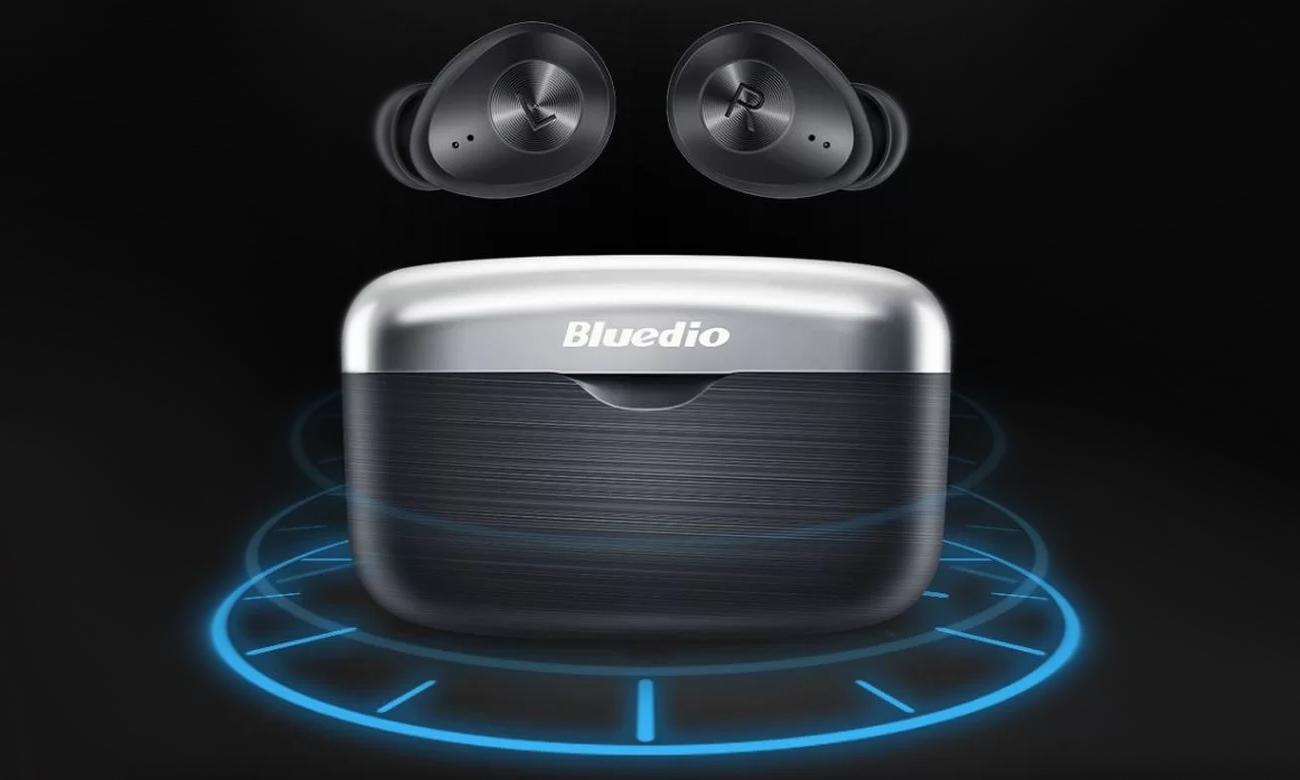 Słuchawka bezprzewodowe z etui ładującym Bluedio Fi