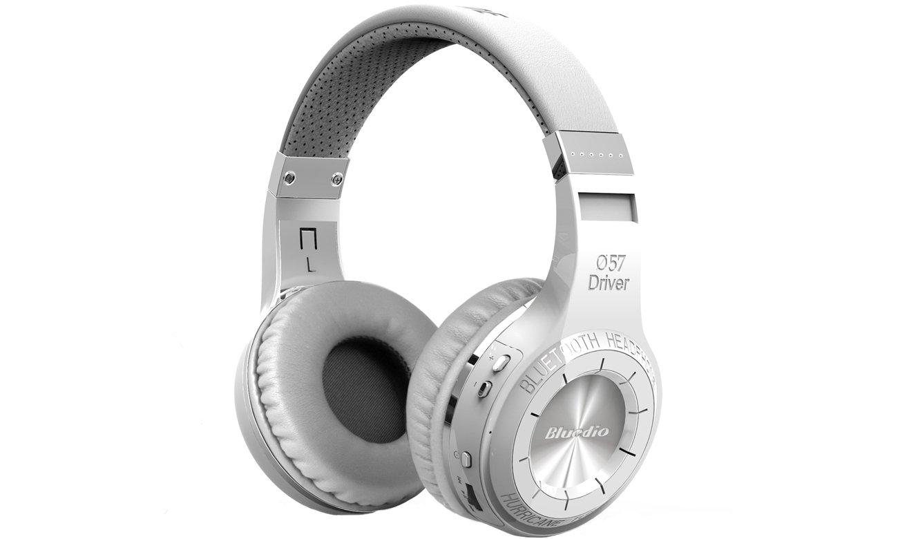 Słuchawki bezprzewodowe Bluedio HT Bluetooth białe