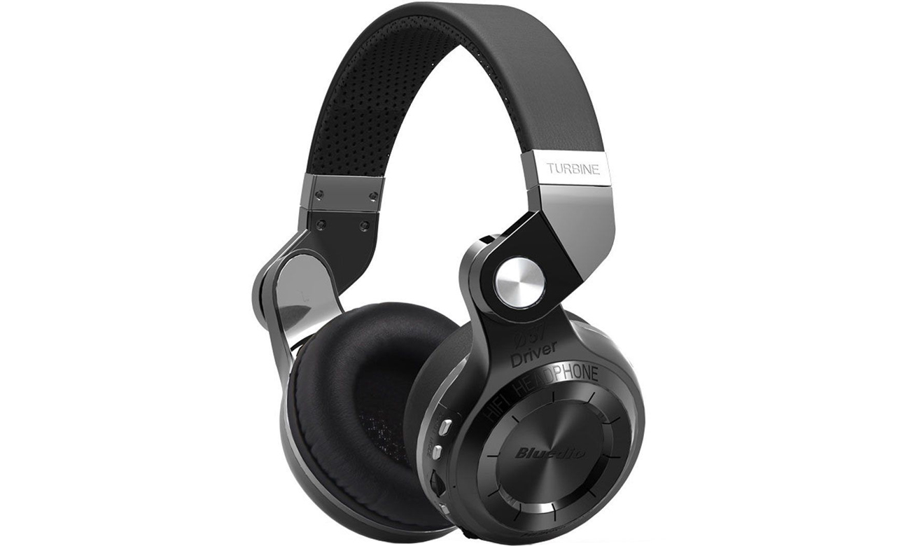 Słuchawki bezprzewodowe Bluedio T2+ Bluetooth czarne