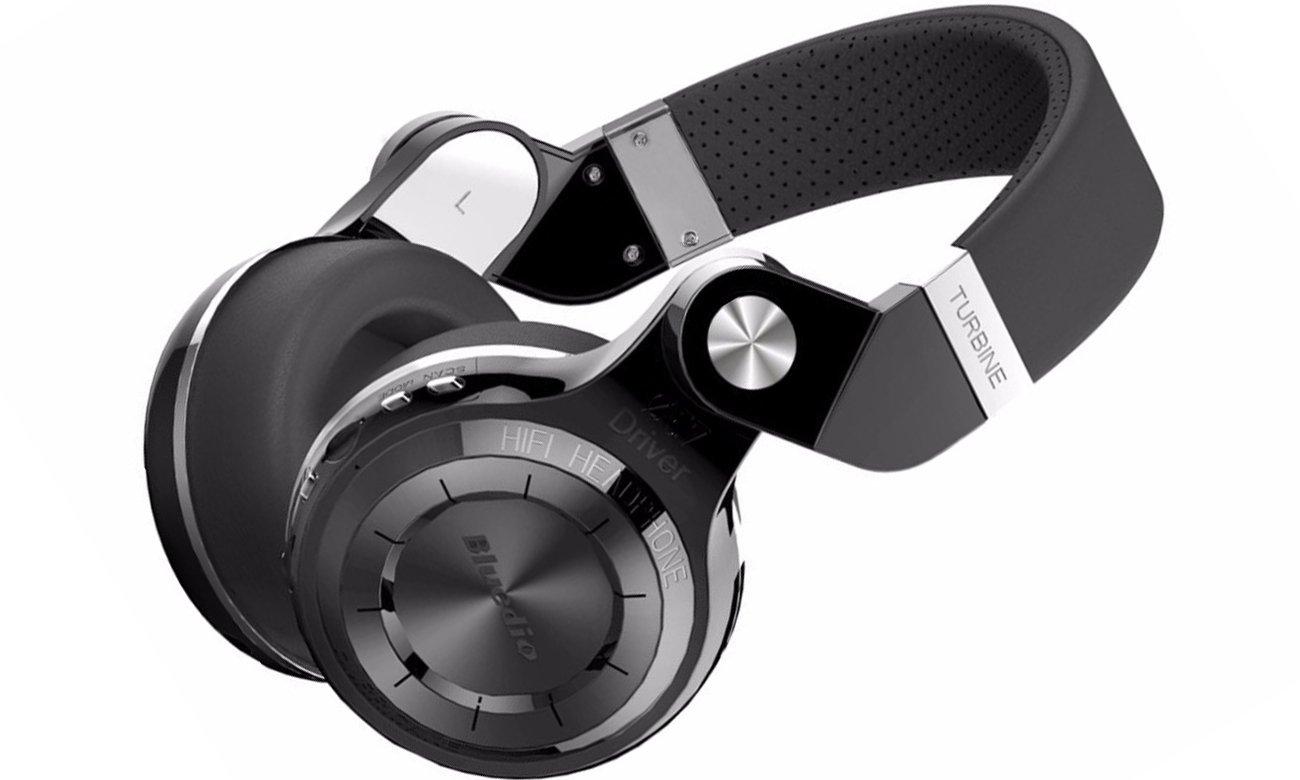 Wygodne słuchaweki nauszne Bluetooth Bluedio T2+