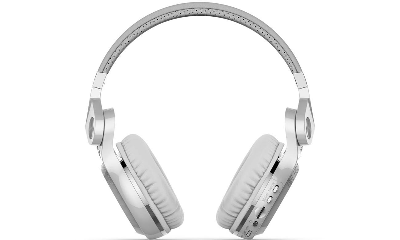 Nauszne słuchawki Bluetooth Bluedio T2+