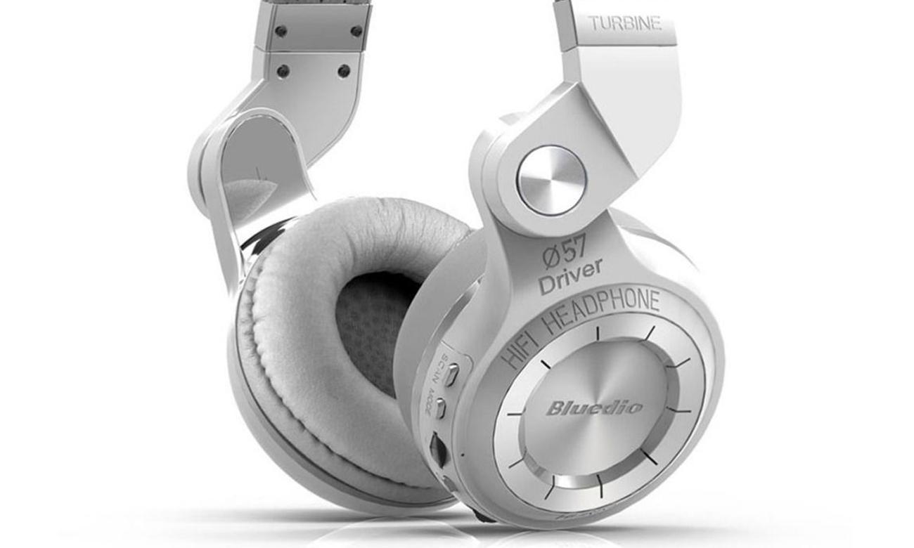 Wydajna bateria w słuchawkach Bluedio T2 plus