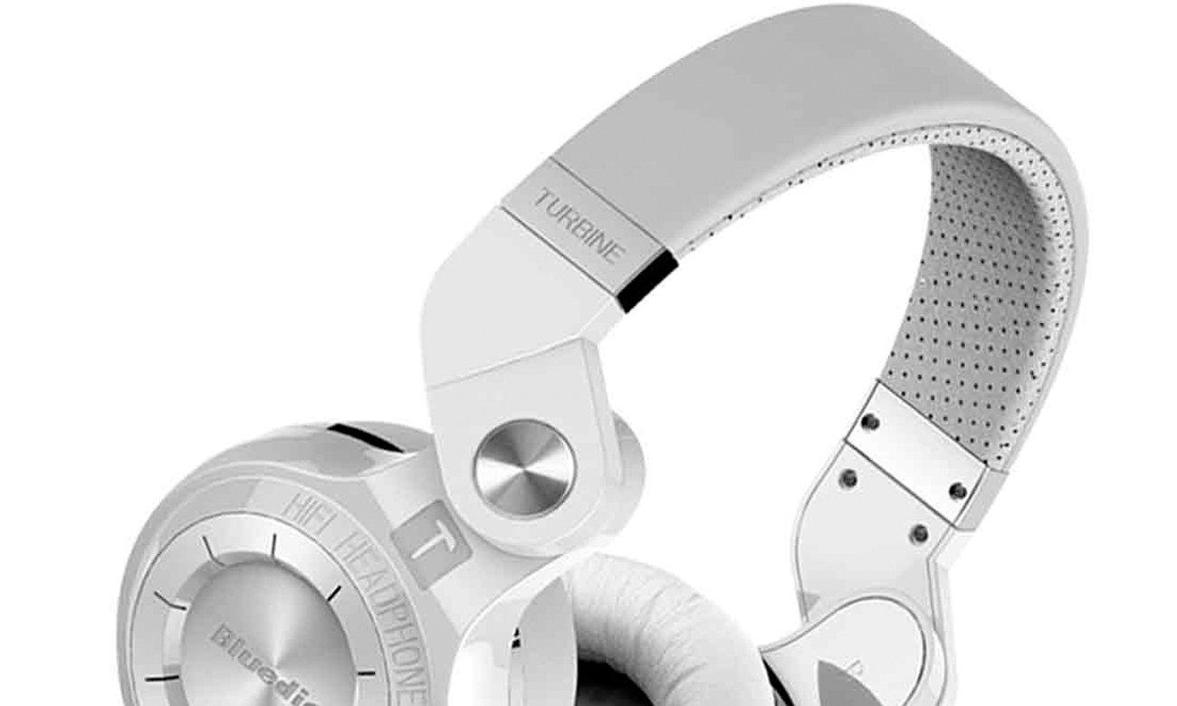 Bezprzewodowe słuchawki z mikrofonem Bluedio T2+