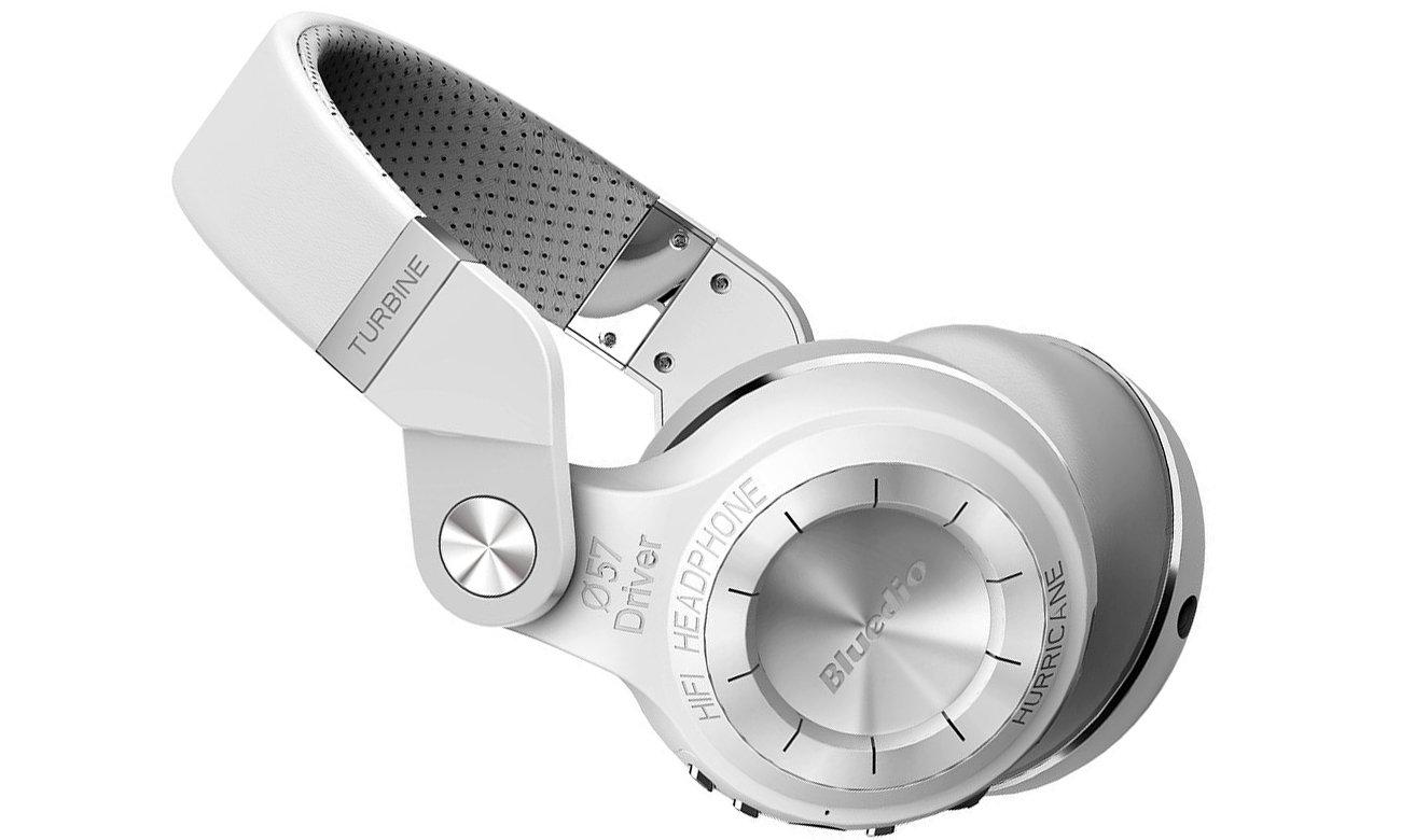 Stylowe słuchawki Bluedio BE-T2P-WH