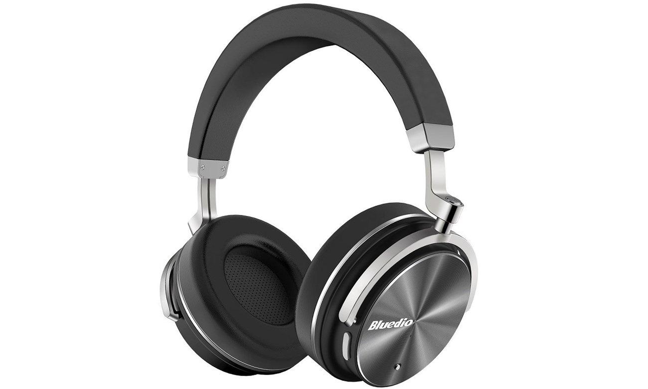 Słuchawki bezprzewodowe Bluedio T4 Turbine Bluetooth czarne