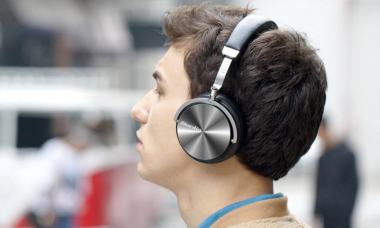 Nauszne słuchawki Bluetooth Bluedio T4 Turbine