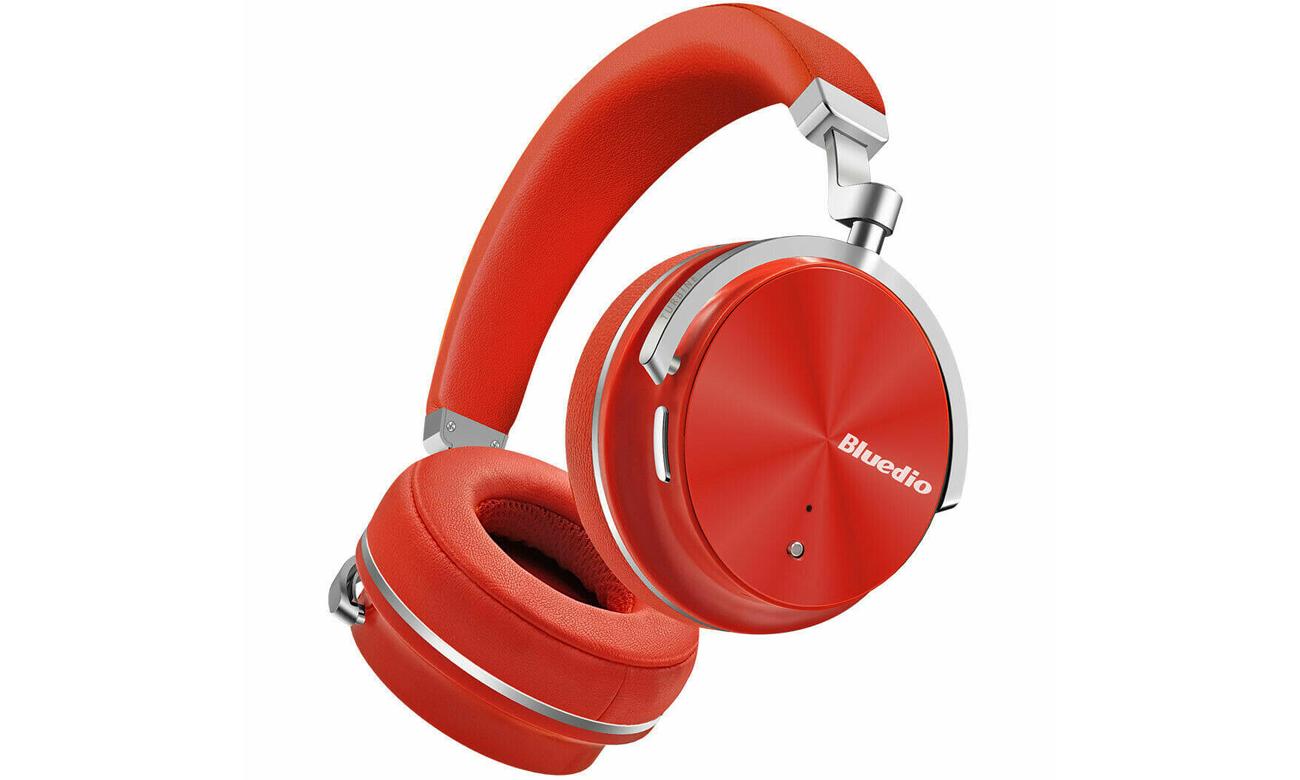 Stylowe słuchawki Bluedio BE-T4S-RED