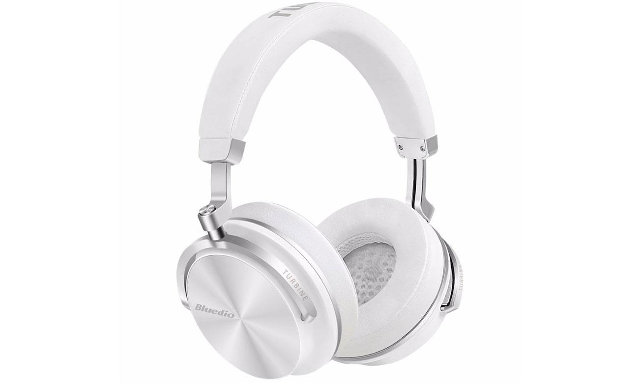 Słuchawki bezprzewodowe Bluedio T4S Turbine białe