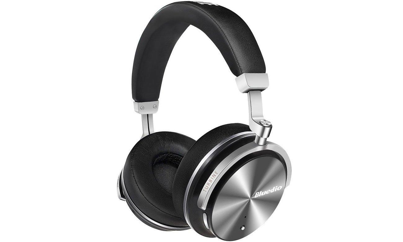 Słuchawki bezprzewodowe Bluedio T4S Turbine czarne