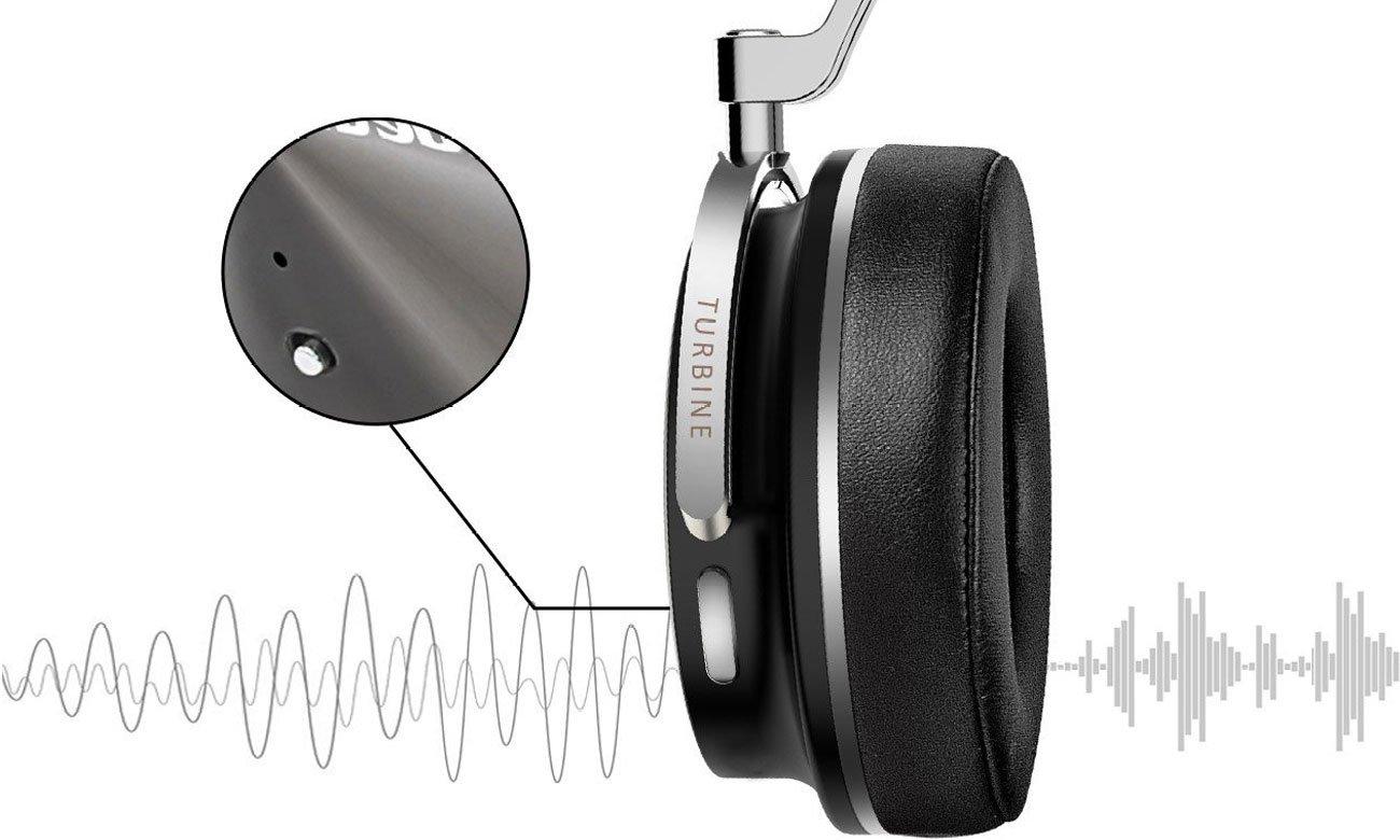 Wygodne słuchaweki nauszne Bluedio Turbine T4S