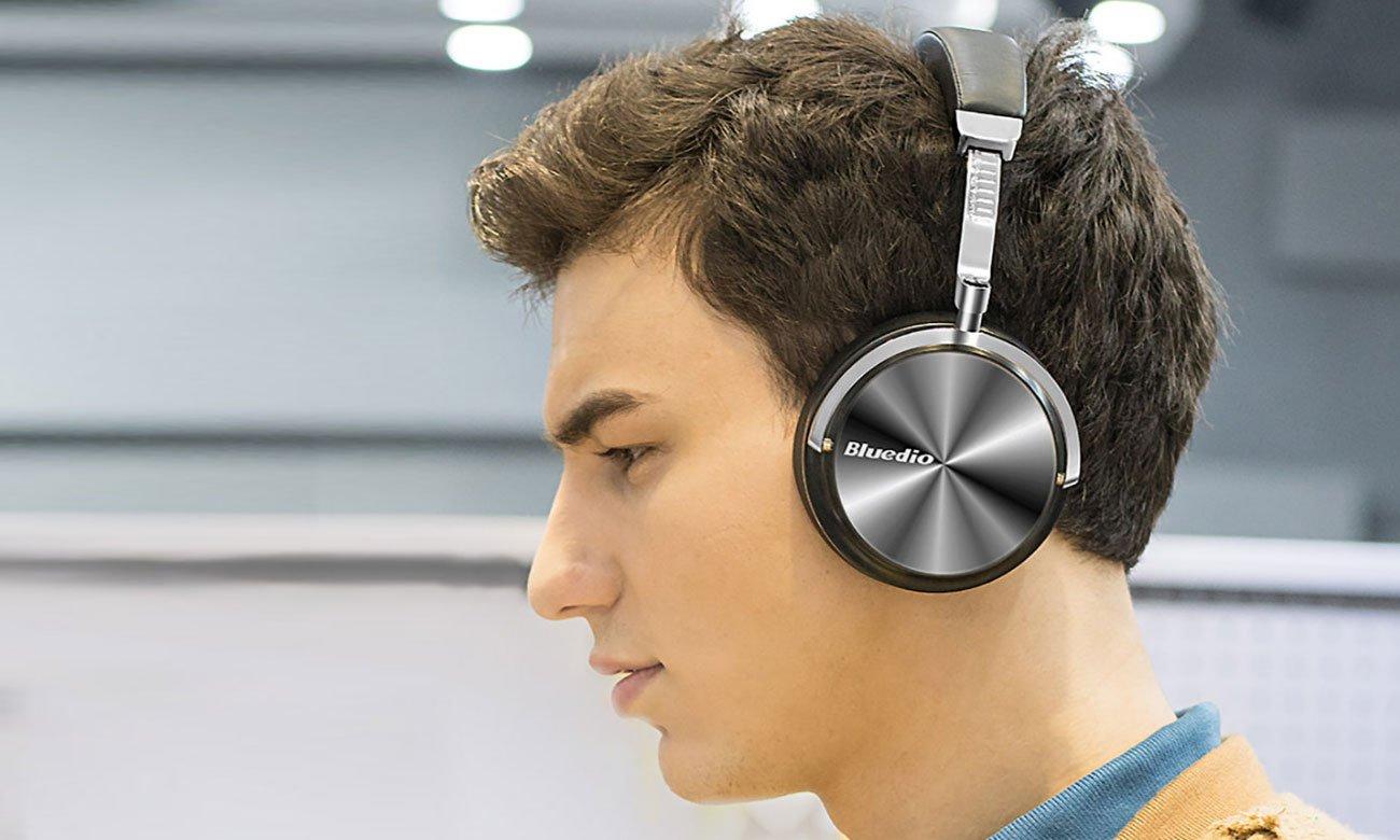 Nauszne słuchawki Bluetooth Bluedio Turbine T4S