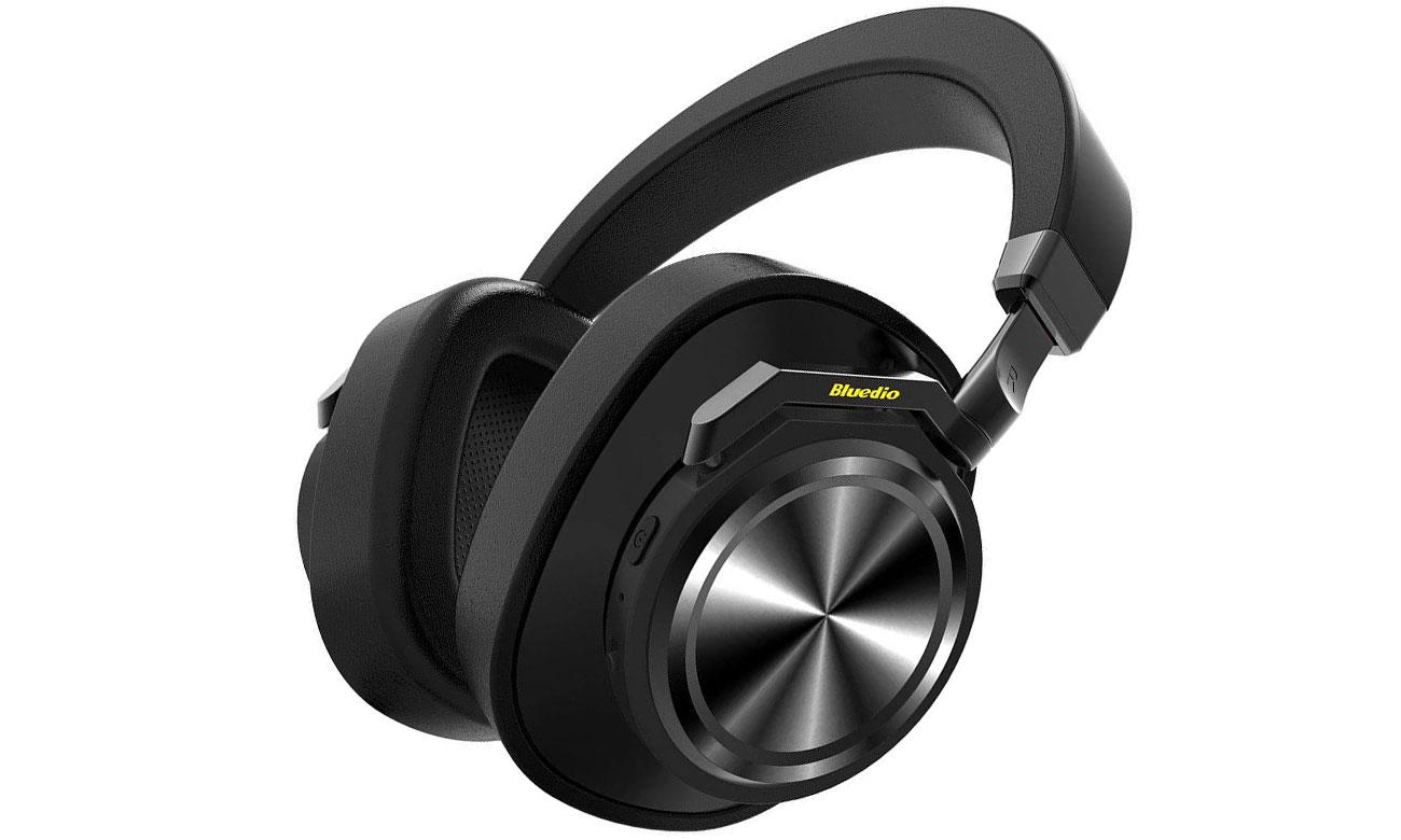 Słuchawki bezprzewodowe Bluedio T6 ANC czarne