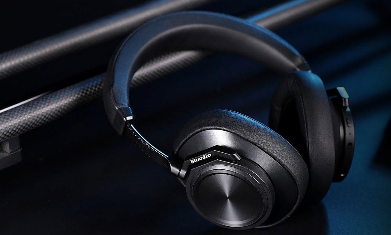Słuchawki bezprzewodowe z serii Turbine Bluedio T6 ANC