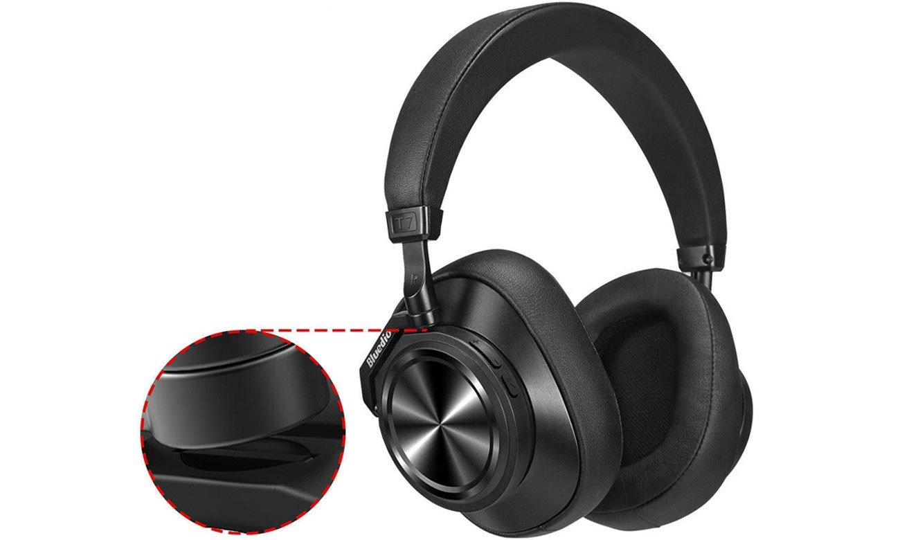 Słuchawki bezprzewodowe Bluedio T7 Plus Turbine czarne