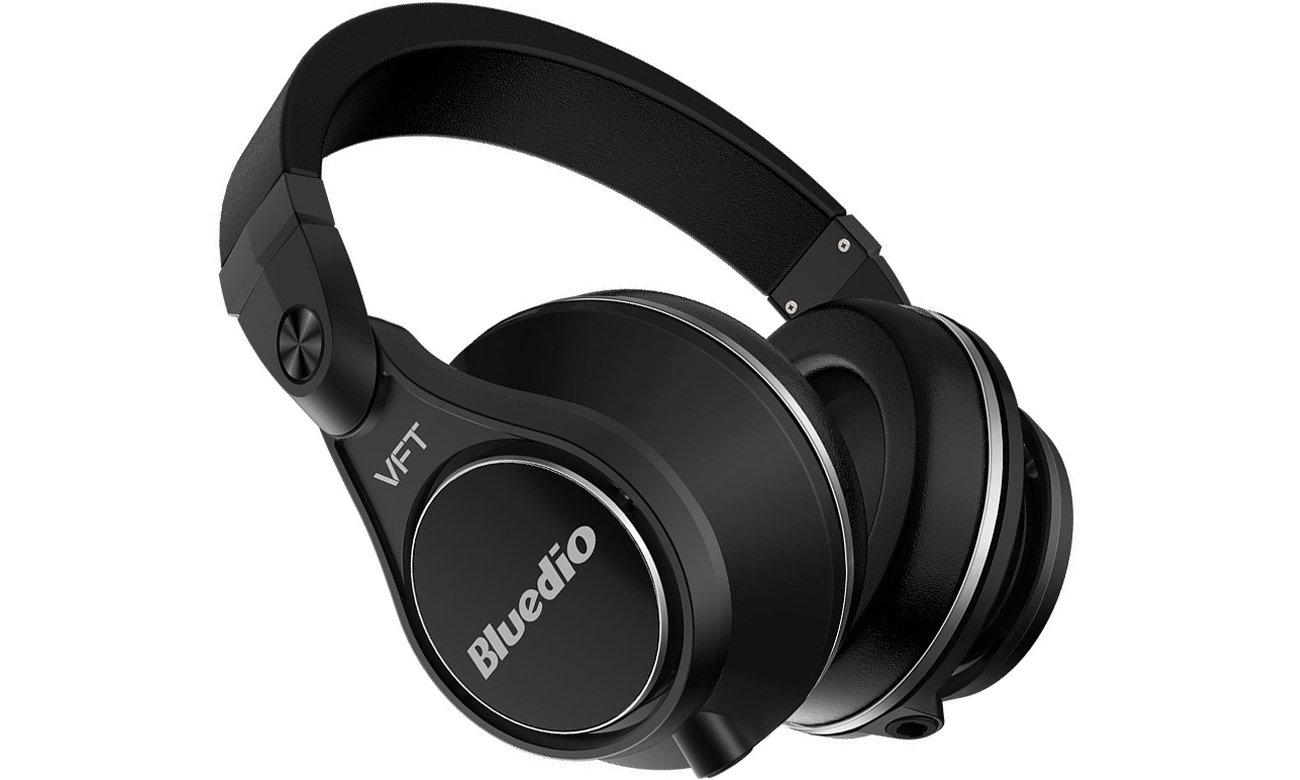 Słuchawki bezprzewodowe Bluedio UFO-Plus Bluetooth czarne