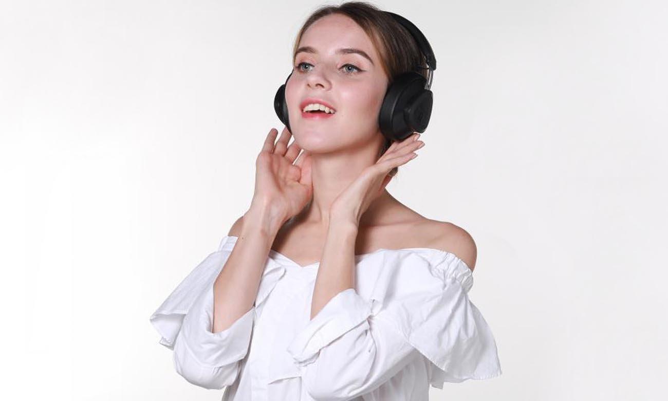 Dźwięk doskonały w słuchawkach Bluedio T Monitor