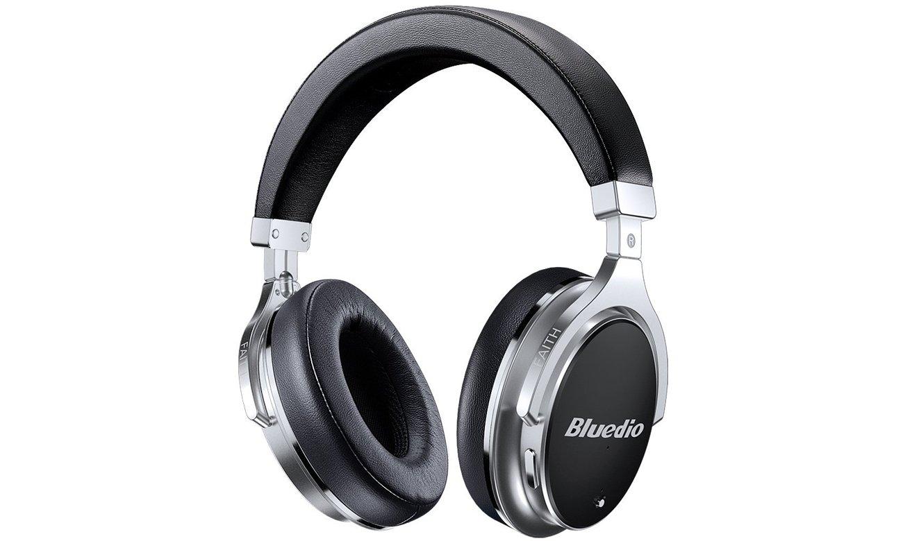 Nauszne słuchawki Bluetooth Bluedio F2 czarne
