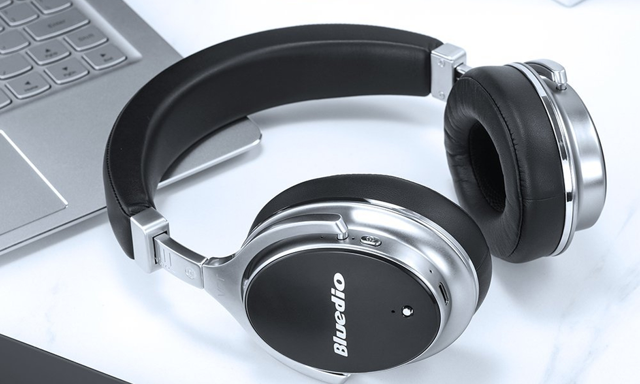 Stylowe słuchawki Bluedio BE-T2P-BK