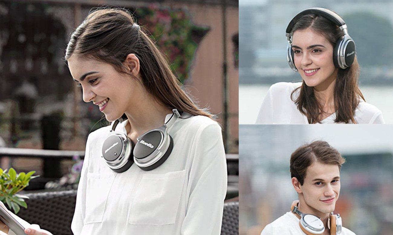 Składane słuchawki Bluedio F2