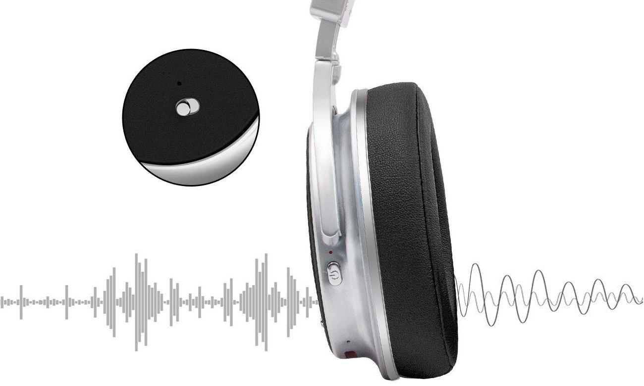 Wygodne słuchaweki nauszne bezprzewodowe Bluedio F2