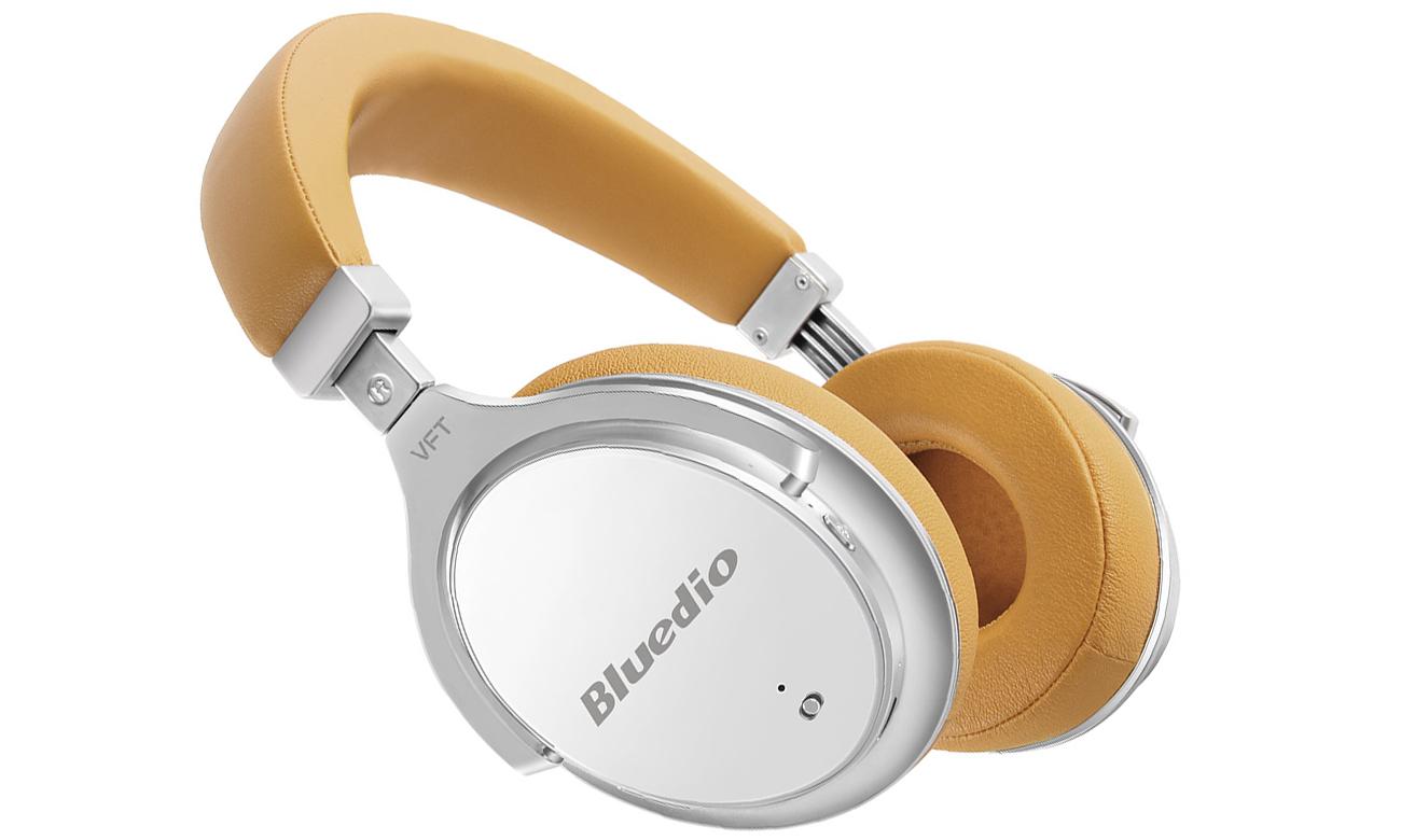 Nauszne słuchawki Bluetooth Bluedio F2WHT białe