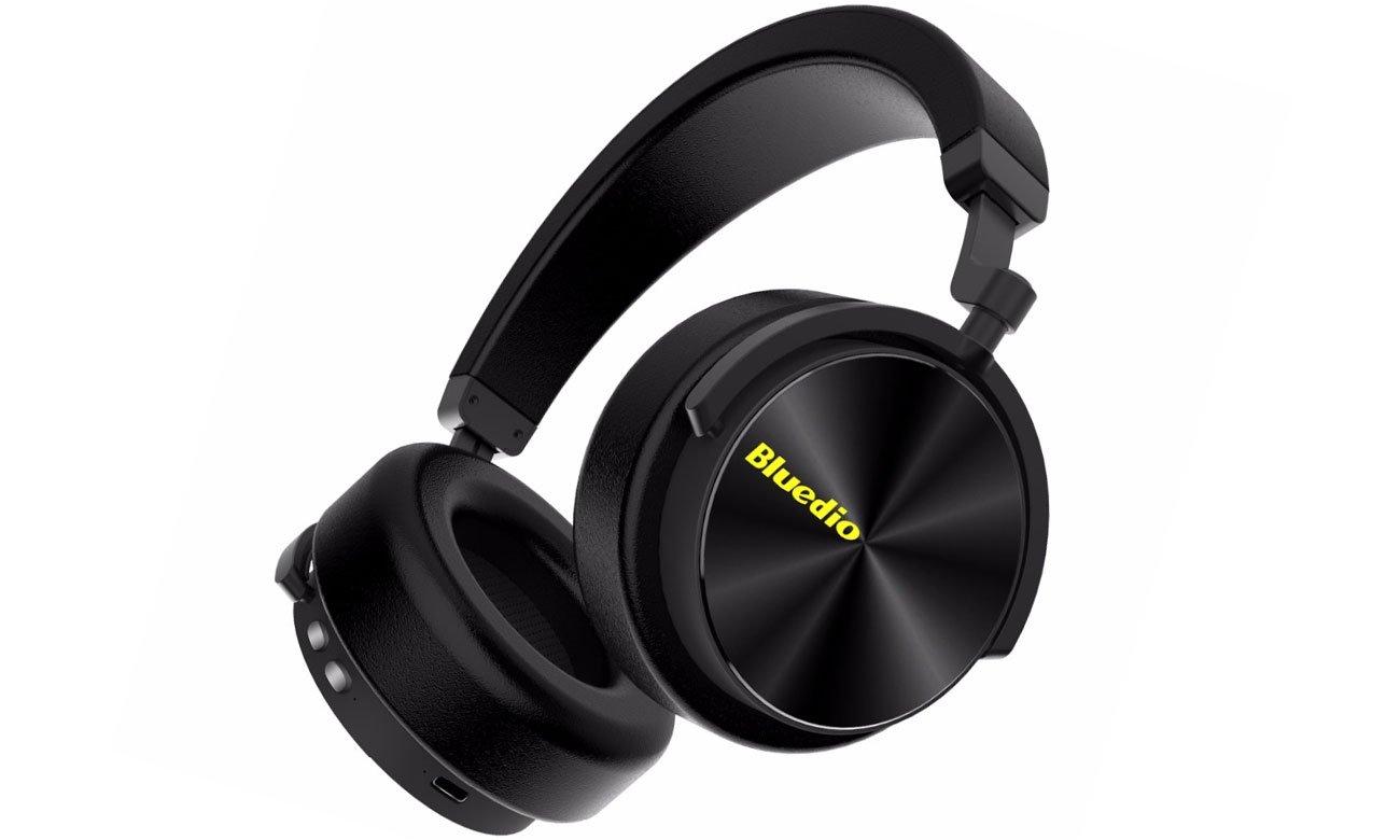 Zmodyfikowany, nowoczesny design bezprzewodowych słuchawkek Bluedio T5