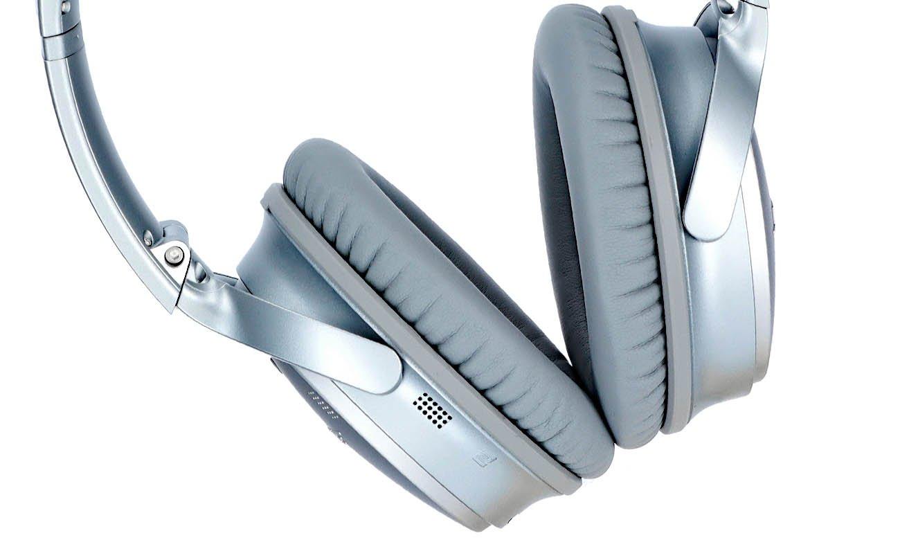 Der kabellose Kopfhörer mit Lärmreduzierung Technologie und Google Assistant Amazon Alexa Apps BOSE QuietComfort 35 II Silber