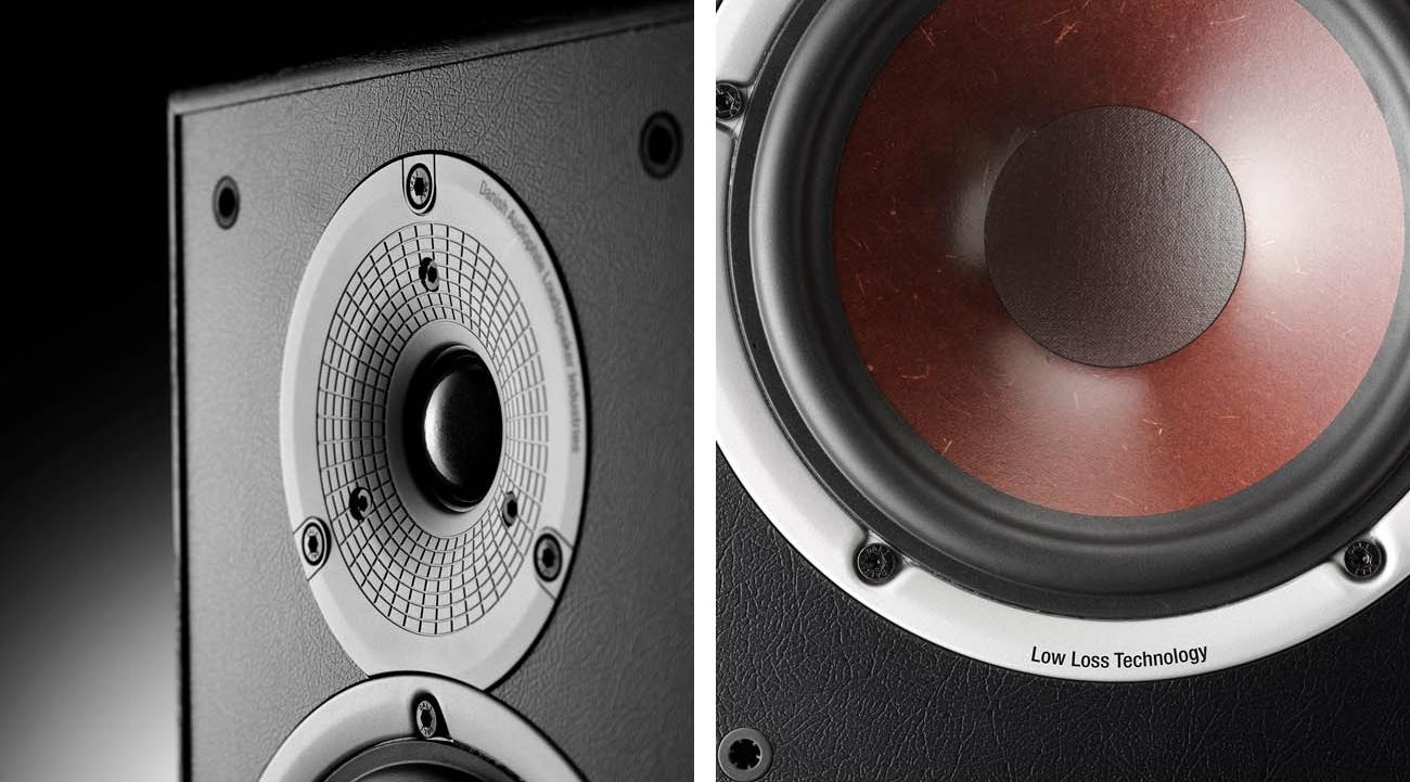 Kolumna podłogowa Dali Spektor 6 Walnut szeroki zakres dźwięku