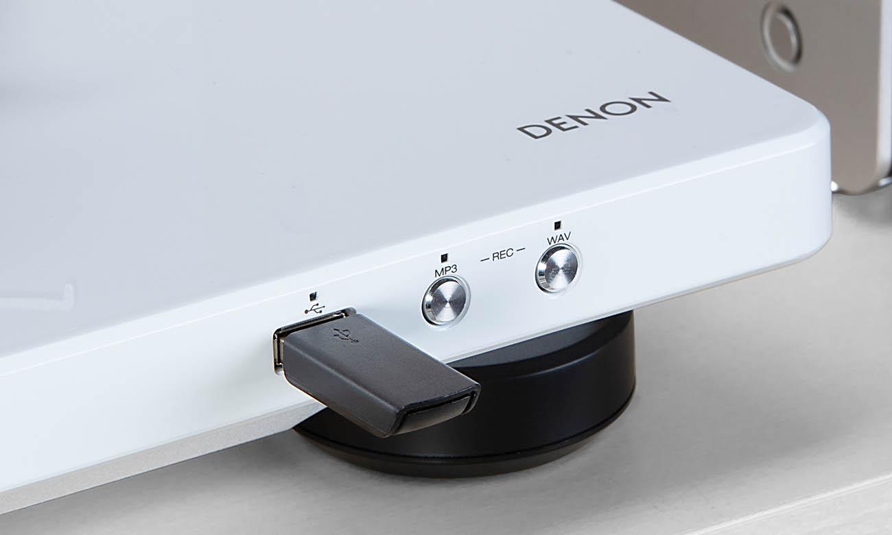 Gramofon Hi-Fi Denon DP-450USB z wejściem USB do nagrywania
