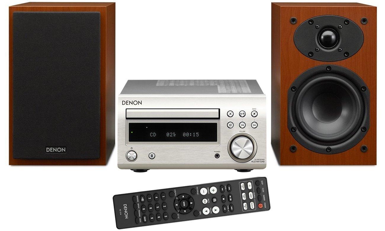 System audio Denon D-M41 z Bluetooth i CD