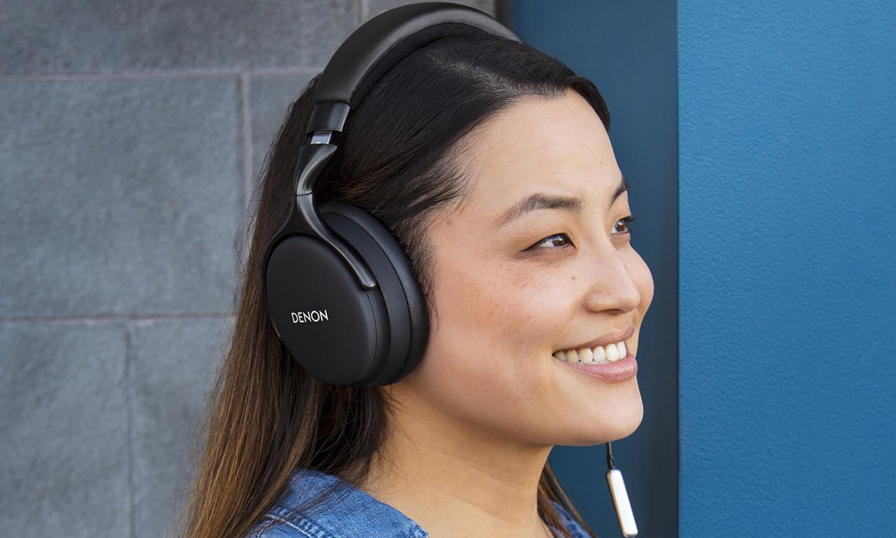 Luksusowe wykonanie słuchawek Denon AH-D1200