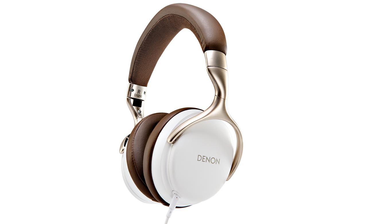 Słuchawki wokółuszne Denon AH-D1200 Białe
