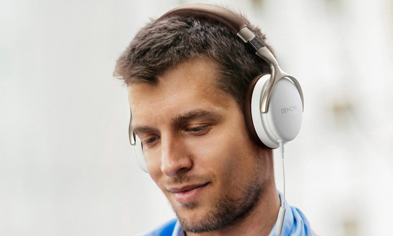 Doskonały dźwięk w słuchawkachDenon AH-D1200WHT