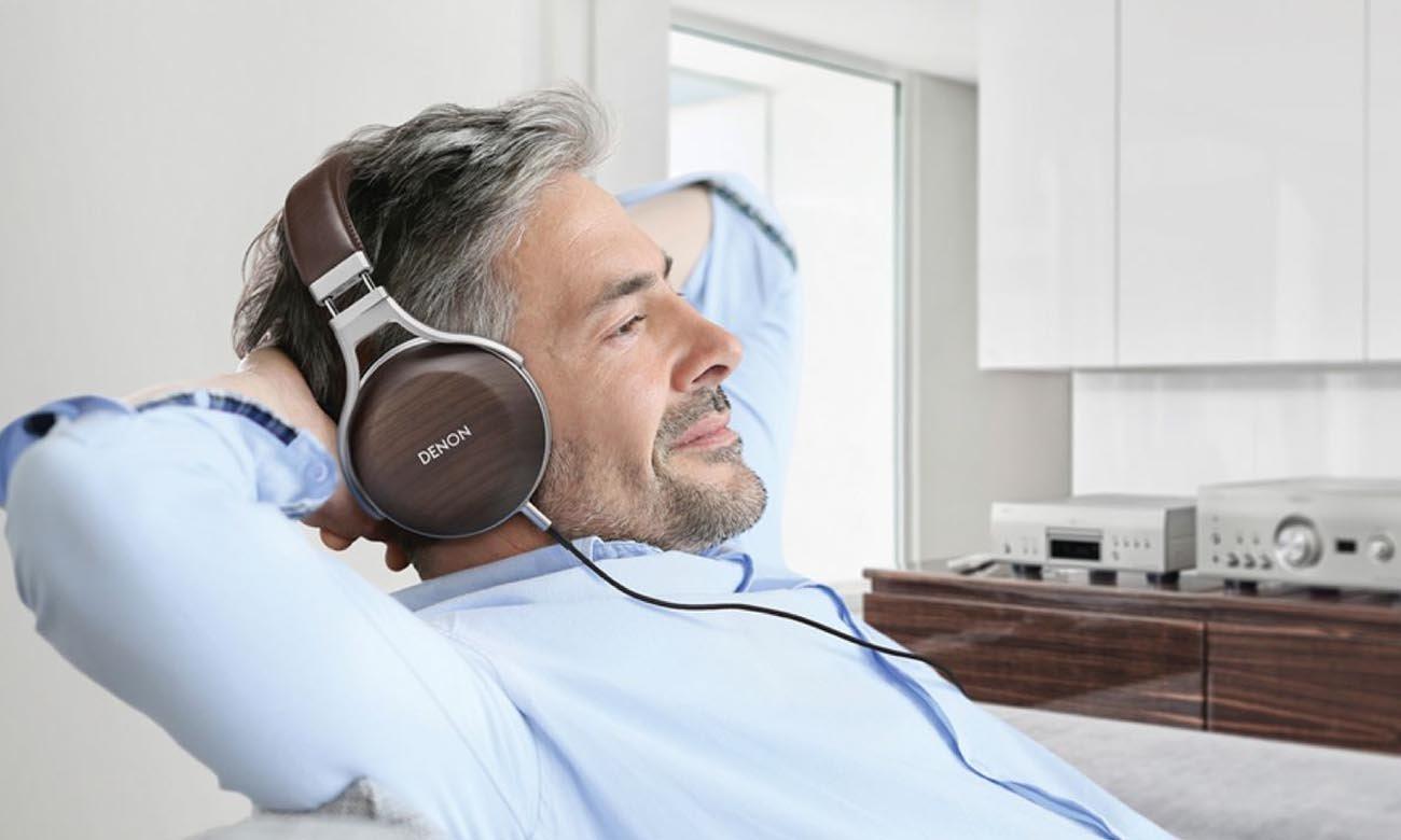 Słuchawki Denon AH-D5200 z brzmieniem najwyższej jakości