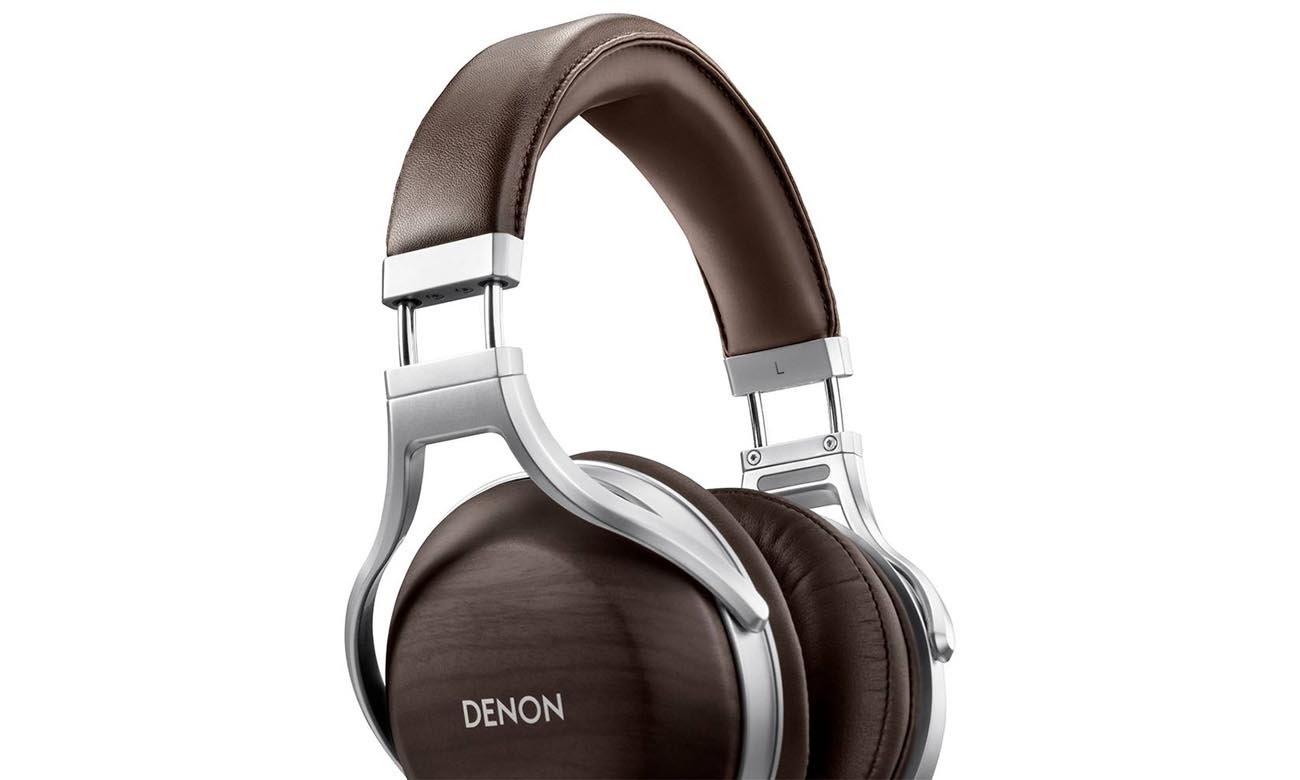 Luksusowe wykonanie słuchawek Denon AH-D5200