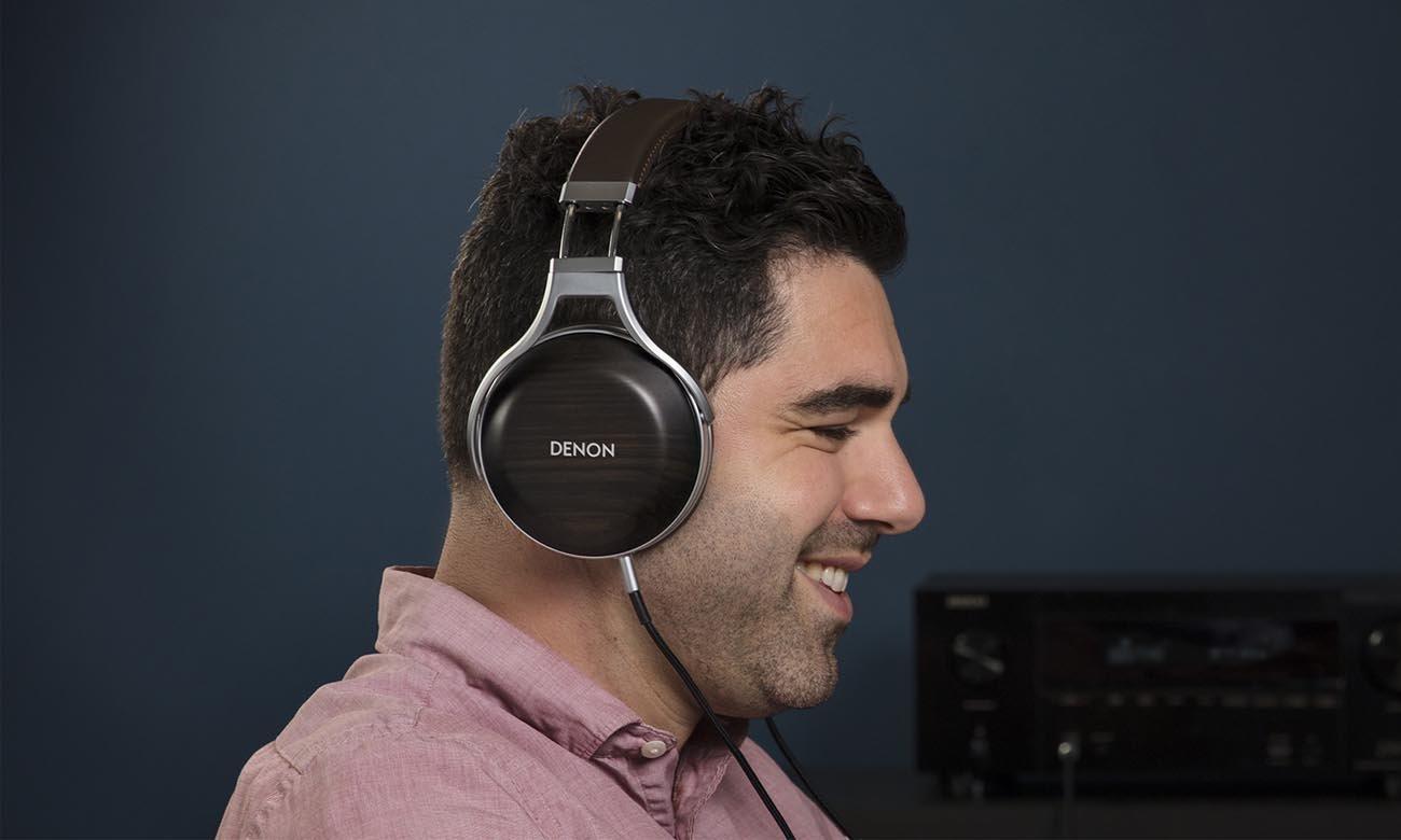 Perfekcyjnie dopasowane słuchawki Denon AH-D5200