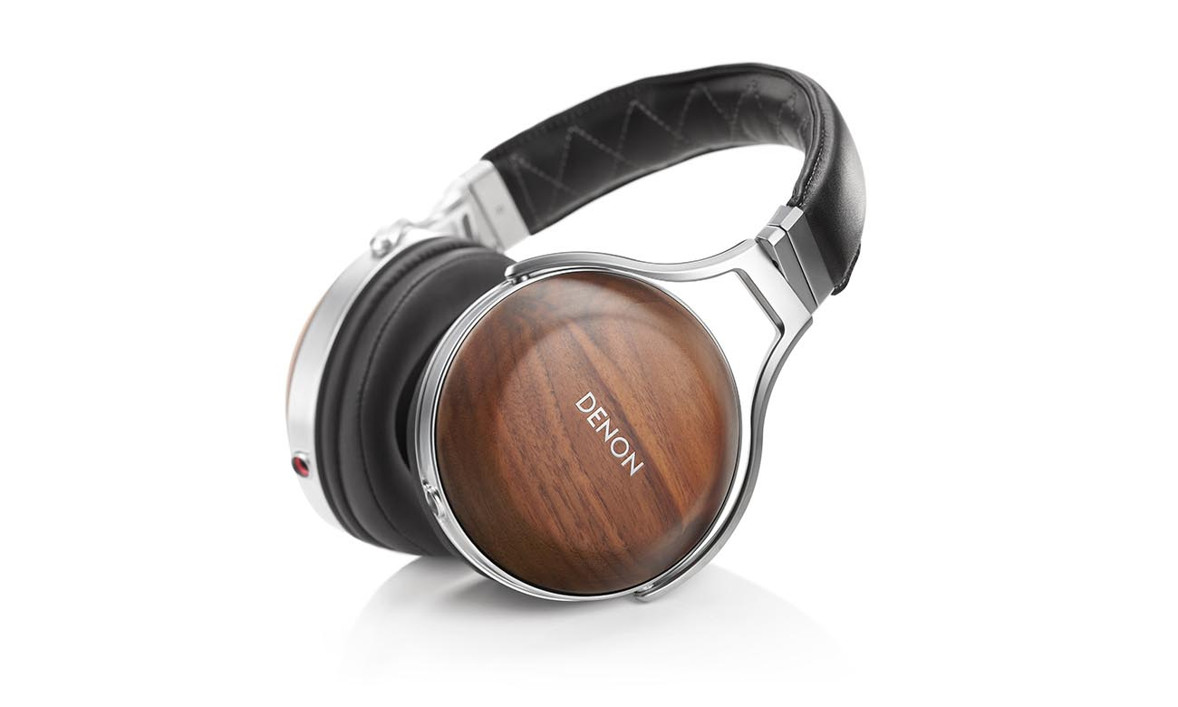 Luksusowe wykonanie słuchawek Denon AH-D7200