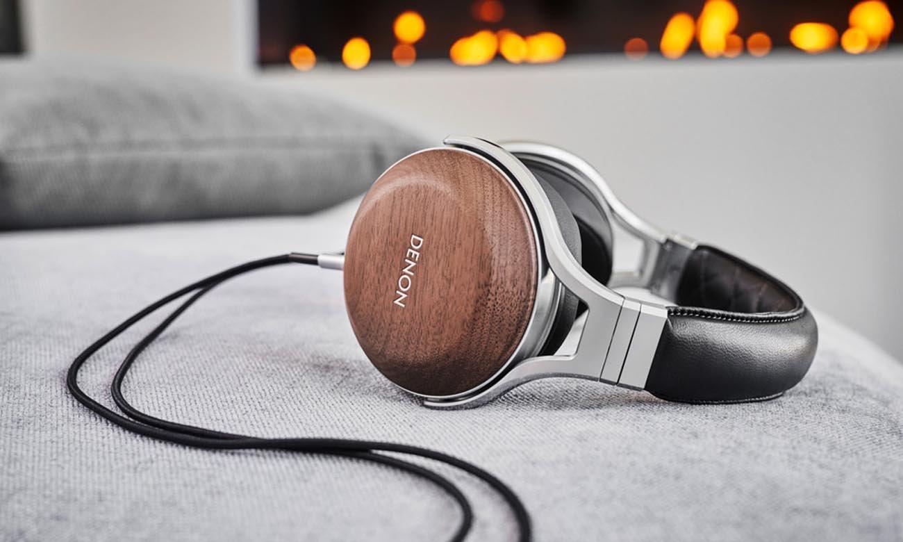 Perfekcyjnie dopasowane słuchawki Denon AH-D7200