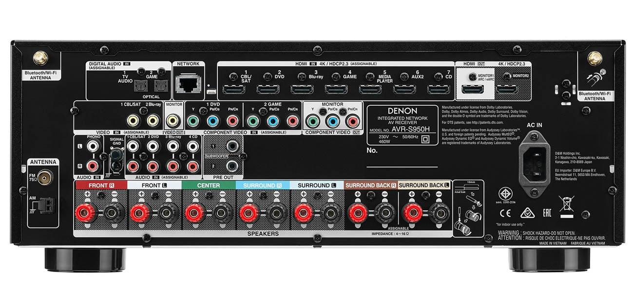 Amplituner Denon AVR-S950H