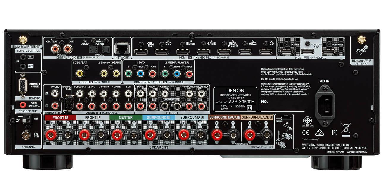 Amplituner Denon AVR-X3500H