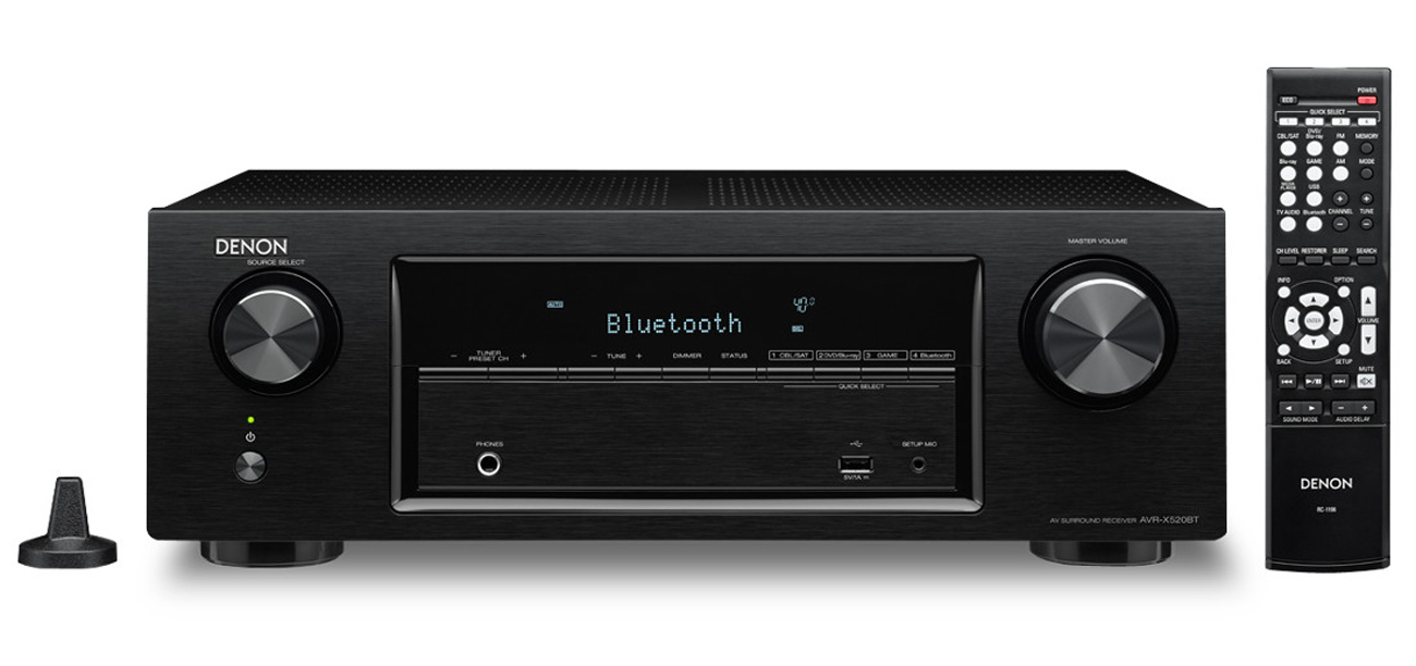 Denon AVR-X520BT + zestaw kolumn Wilson Cinematic