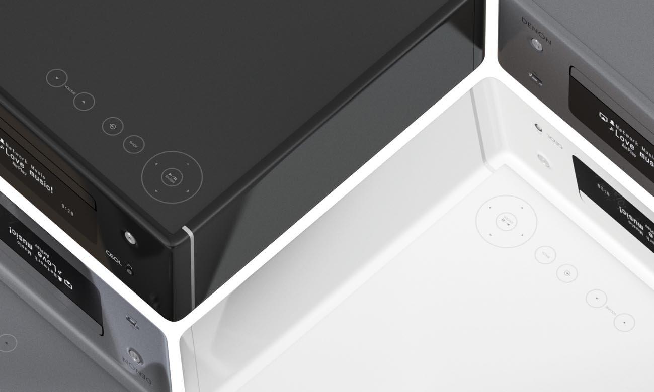 Łatwa w obsłudze i elegancka mini-wieża Denon CEOL N10 Grey