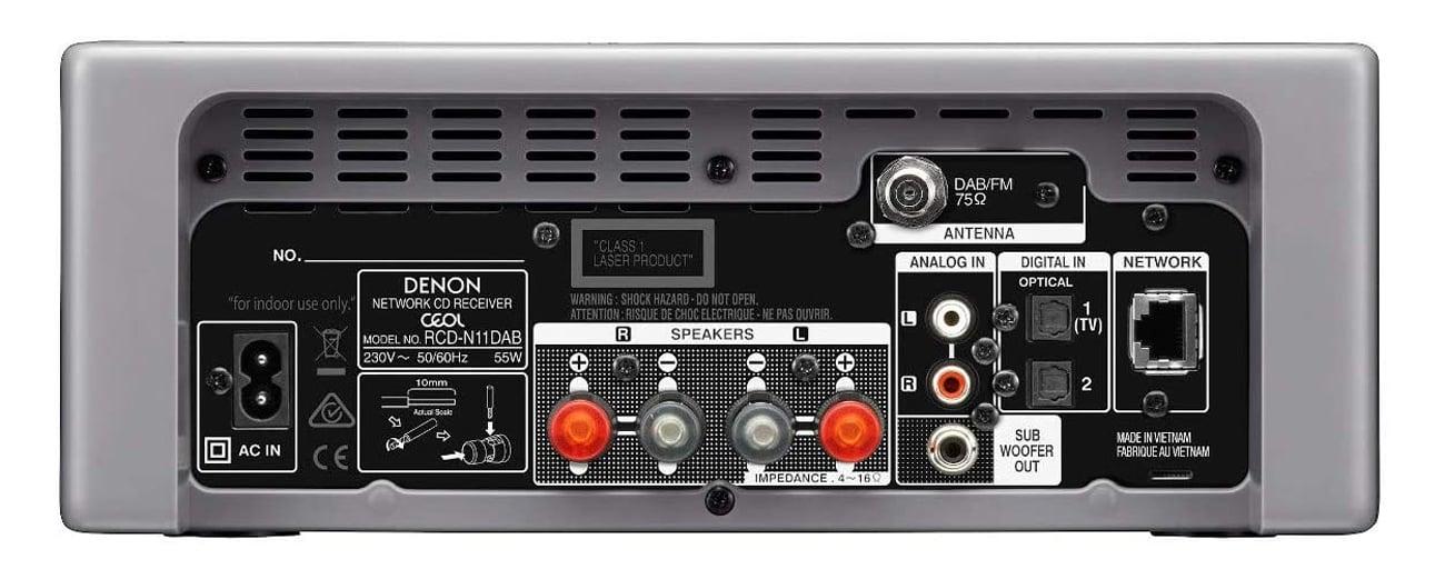 Wszechstronność sposobów odtwarzania dźwięku z Denon CEOL N11