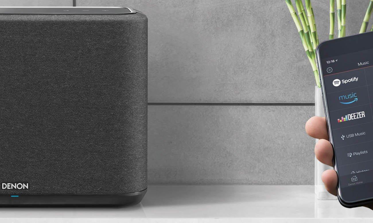 Niezawodne połączenie bezprzewodowe w głośniku Denon Home 350