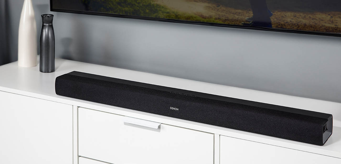 Soundbar Denon DHT-S216 z wbudowanymi subwooferami